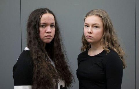 Vi har snakket med: Elise Havik (17) og Hedda Ouassou (16) om hatytringer og #ikkegreit-kampanjen.