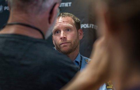 TILTALE: Politiinspektør Per Thomas Omholt er aktor i saken mot en kvinne fra Ringerike som er tiltalt for ikke å ha skaffet barnet sitt helsehjelp.