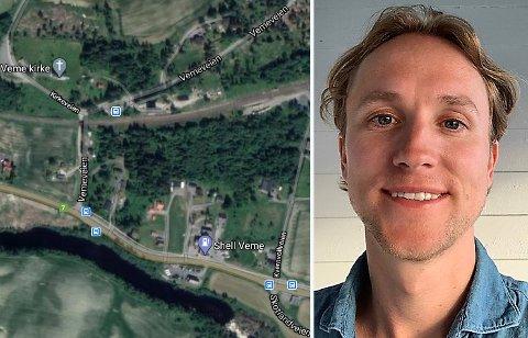 11 ÅR: I 2009 sa Ringerike kommune nei til Simen Granerøds boligforslag. Nå kan det likevel bli boligområde på Veme.