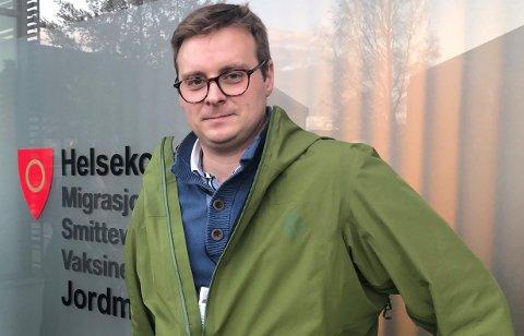 KJENT VEI: De smittede har kjent smittevei, opplyser ass. kommuneoverlege Christian Skari.