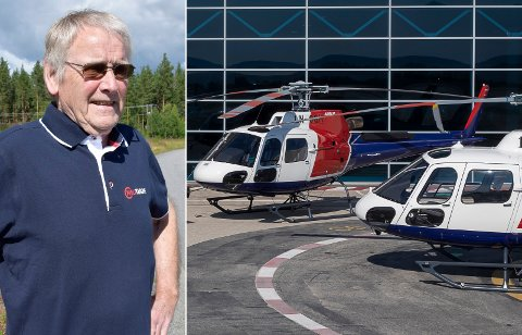 FORTALTE I FJOR: Ringerike kommune ble overrasket over Oddvar Røysis helikopterplaner, men investoren fortalte om dem i lokalavisen allerede i fjor sommer.