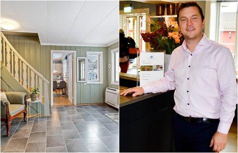 «NYTT» HUS: Arne Ivar Johnsrud fra Jevnaker, hotellsjef på Granavolden Gjæstgiveri, jobber nå med planer for å integrere den tidligere presteboligen på Granavollen i hotelldriften.