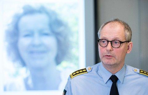 Politiinspektør Tommy Brøske er svært bekymret for at det ikke er kommet sikre livstegn fra Anne-Elisabeth Hagen, som ble antatt bortført fra sitt eget hjem i Lørenskog utenfor Oslo 31. oktober i fjor. Foto: (NTB scanpix)