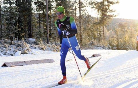 I FORM: Andreas Kirkeng fikk en kjempestart på den nasjonale juniorkarrieren da han på søndag ble nummer tre i norgescupen.