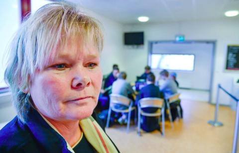TILTAK: -  i setter i verk tiltak om nødvendig, sier rektor Laila Handelsby ved Røyken videregående skole.