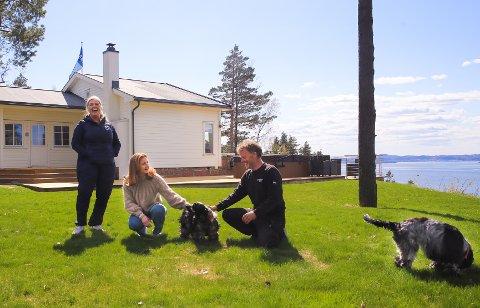 Etter at dattera Anniken (23) flytta hjemmefra, flytta Hans-Petter Krane og kona Trine-Lise til hytta i Holmsbu.