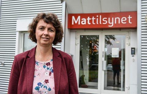 FORBLIR PÅ FOKSERØD:  Vi er glade for at vi kan fortsette å være på Fokserød, sier avdelingssjef Kjersti Søli i Mattilsynet Vestfold.
