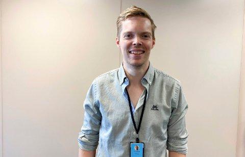 NY JOBB: Tommy Borgen (31) startet i ny jobb 5. juli. Nå er han kjøkkensjef for daglig drift hos Oslofjord Convention Center. – Det er spennende å komme i gang, og jeg ser fram til å få mer rutiner og til å få systemet til å gå, sier han.