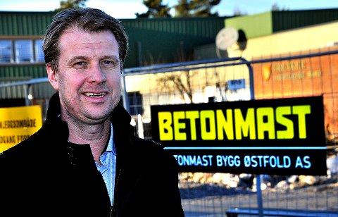 Jørgen Evensen og Betonmast vant hovedprisen under EY Entrepreneur Of The Year. (Foto Jarl M. Andersen)
