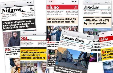 Sarpsborg Arbeiderblads abonnenter får nå tilgang til alt stoff fra 70 Amedia-aviser. Det blir ikke noe tillegg i abonnementsprisen.