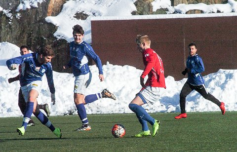 NY SPILLER: Martin Solberg Nesset (til venstre) er tilbake i Askim etter tre sesonger i 3. divisjonsklubben Faaberg utenfor Lillehammer.