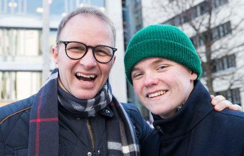 KUN OLIVER: Petter Solberg vil bruke tiden sin på sønnen Oliver i fremtiden, selv om han nok er fristet av et comeback nå som helsa er bra.