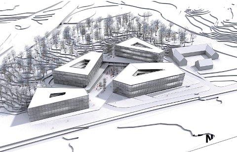 Slik skal hotellet som bygges ved Einargarden se ut.