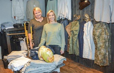 PÅSKETORSDAG: Idag torsdag kveld frister Renate Klausen og Stine Bredesen med flotte premier og gavedryss på Tidevann som tilbyr interiør, klær, møbler og frisør.