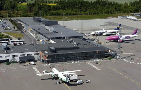 ARRESTERT: En porsgrunnsmann i 30-årene ble lørdag formiddag arrestert på Sandefjord Torp lufthavn.