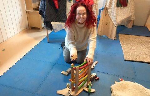 GIR IKKE OPP: Marianne Elstad Olsen gir ikke opp drømmen om å starte barnehage i Skien.