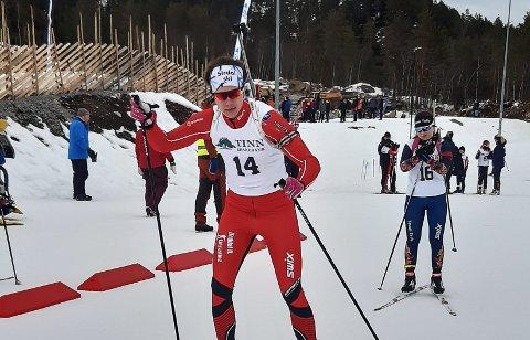 RENN: Even Uhlin-Engstu er stolt av hvordan han har taklet den vanskelige korona-sesongen.