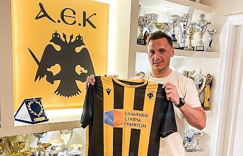 PROFF: Joakim Hykkerud har blitt proff igjen. AEK Athen har hentet han i jakten på å vinne en tittel i Europa.