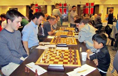Team Kallset består ganske enkelt av pappa Tore og sønnene Vegard (nærmest), Øystein og Eirik.