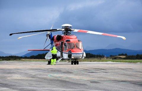 De ansatte ved CHCs helikopterbase i Kristiansund risikerer lønnskutt.