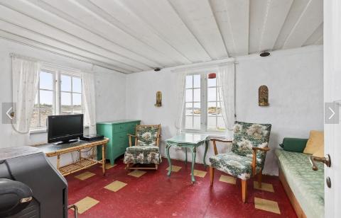 HØY KVADRATMETERPRIS: Denne stua kan bli din for 4,5 millioner kroner.