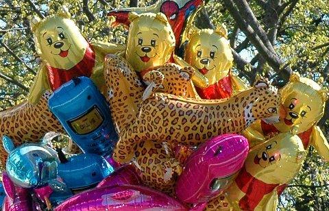 POPULÆRE: Heliumballonger hører med på 17. mai, mener noen.