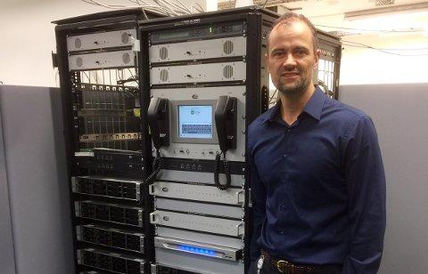 EKSPORT: Rune Kristiansen, director ATC & Coastal Communication Division i Jotron, jobber i en bedrift der 90 prosent av inntektene kommer fra eksport.