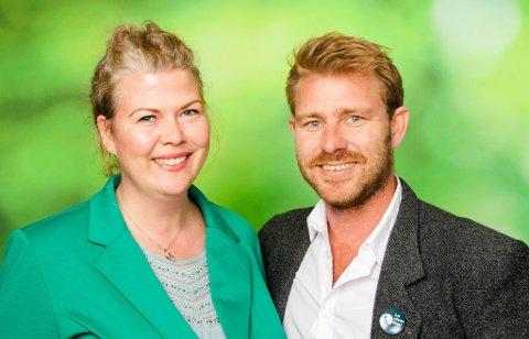 Suzy Haugan og Håvar Bettum