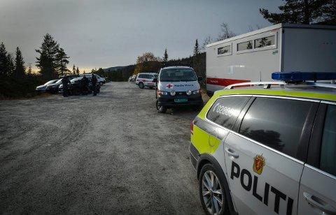 FORSVANT: Politiet, Sivilforsvaret og frivillige ble satt inn i søket etter 69-åringen, som forsvant 17. oktober fra Blefjell.