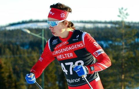 HAR TATT STEG: Heine Husdal tester bedre enn noen gang og har fått uttelling for treningsjobben han har lagt ned. Men det er vanskelig å finne skirenn.