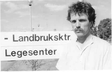 FØR...: Per Arne Gjelsvik flyttet med familien tilbake til Røros og startet som kommunele i Os på nyåret i 1987. - Der var jeg et drøyt år før jeg fikk jobb legesenteret på Røros, sier han.