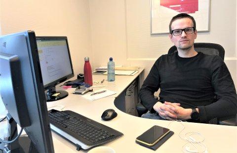 DAGLIG LEDER: Vegard Skorstad Thoresen (29) er ansatt som ny daglig leder i Alvdal IL.