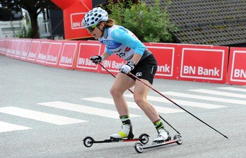STERK: Magni Smedås har hatt et tøft konkurranseprogram de siste dagene. Hun håper det skal gjøre henne bedre. OL i Kina er en drøm for 26-åringen.