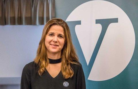 På topp for Venstre i Viken: Solveig Schytz.
