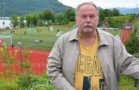 Gode nyheter: Mottaksleder Per Dagfinn Kvarsvik er glad for at mottaket nå er sikret langsiktig drift. Foto: Yngve Lie. Arkiv