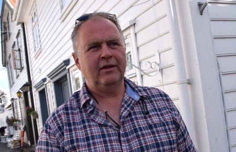 NYE BOLIGTOMTER: Atle Støle (Sokndallisto) foreslo å legge til rette for kloakk ut til attraktive tomter på Hanaberg/Årstad-området i Sokndal.