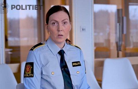 OPPFORDRER: Trude Rønningen er avsnittsleder for vold og seksuallovbrudd i Oslo politidistrikt. I en video kommer hun med en påskeoppfordring til voksne.