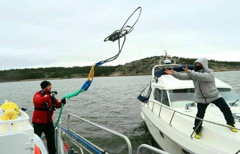 AVVENT RETUR: Er du på båtferie og må kjøre gjennom indre- eller ytre Oslofjord? Da er det et par ting du bør tenke over først, ifølge Redningsselskapet.