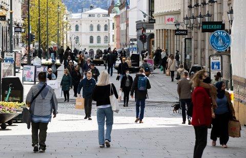 SMITTE: Til sammen er 45.464 Oslo-borgere registrert smittet siden mars i fjor.