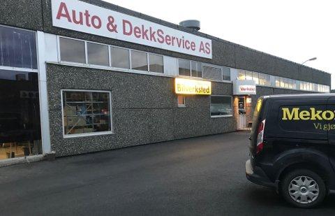 Må ut: I dag holder Auto & Dekkservice til i  Olav V gate 104 i Bodø.
