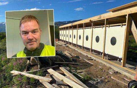 Det nye anlegget ble sparket i gang med storstilt stevne. Nå har skytterlaget ifølge leder Ståle Indregård flere planer for anlegget i Sulitjelma. Alle foto: Privat