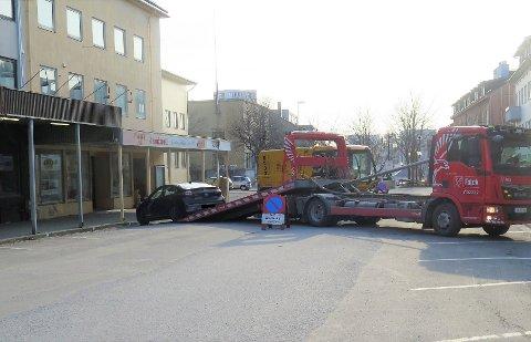 Feiing i Bodø sentrum. Foto: Bodø kommune