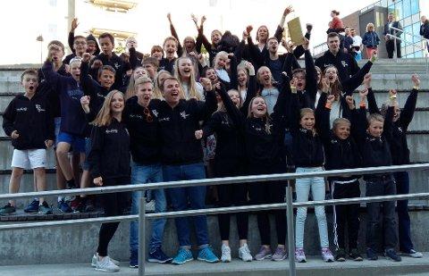Tertnes skoles musikkorps jubler over nok en norgesmestertittel. Den fjerde siden 2009.