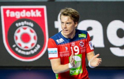 Tidligere Fyllingen-spiller Kristian Bjørnsen fortsetter å bøtte inn mål for Norge.