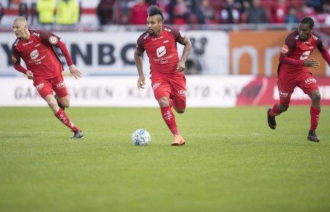 Kristoffer Barmen, Bismar Acosta og Ludcinio Marengo ser mye mer til ballen denne sesongen enn hva som har vært tilfelle de siste årene.