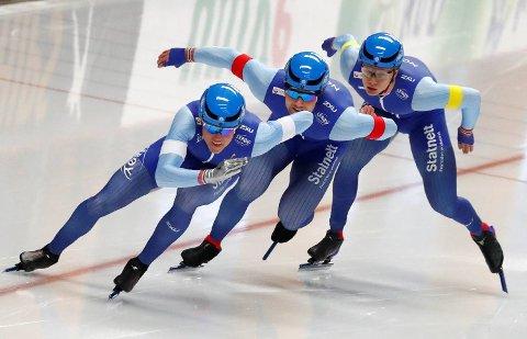 Det norske laget tror de kunne kjempet om medaljer hvis de hadde holdt seg på beina.
