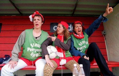 15 år har gått siden Kvinner på Randen med Kjersti Berge, Marit Voldsæter og Elisabeth Moberg som utgjør Kvinner på randen sist var samlet. Nå er de tilbake. Her fra 1997.