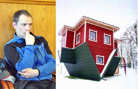 Rådmannen anbefaler overfor formannskapet at Tadas Breive får bygge OppNed huset sitt.