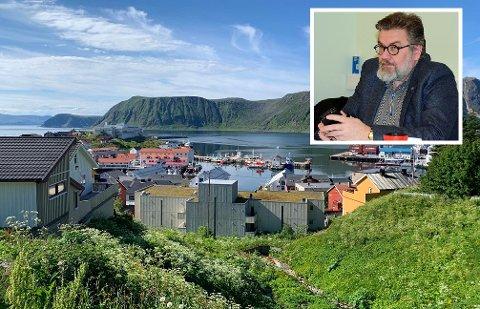 INNSTILT: Stig Aspås Kjærvik startet nesten i jobben som kommunedirektør i Nordkapp kommune tidligere i år. Nå er han igjen etterspurt.