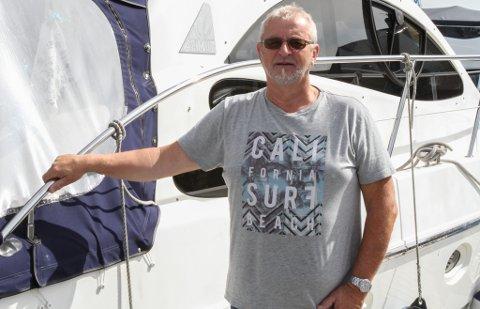 Eivind Ask er leiar i Florø båtforening.
